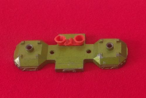 Dinky Toys 359 - Original - Space 1999 Eagle Transporter Green front lower section with Red boosters
